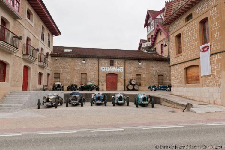 Bugatti Tour at winery