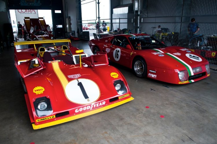 Ferrari 312PB and Ferrari 512 BB LM