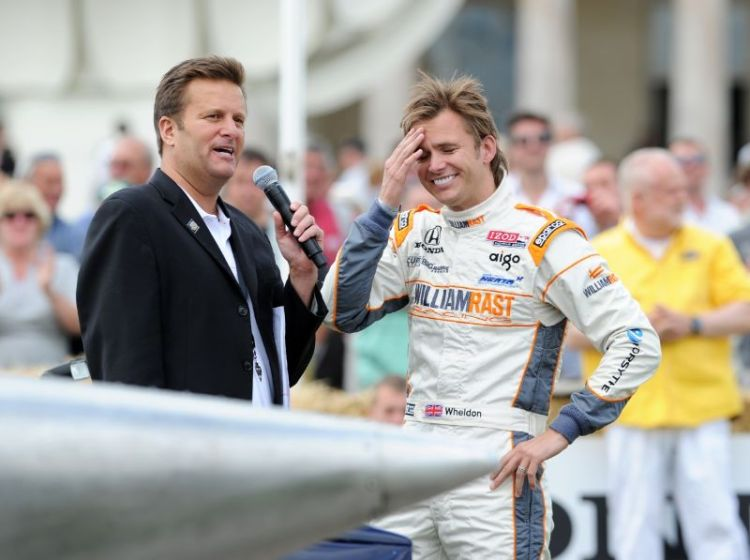 Indy 500 Winner Dan Wheldon at Goodwood Festival of Speed 2011