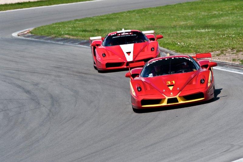 Pair of Ferrari FXX
