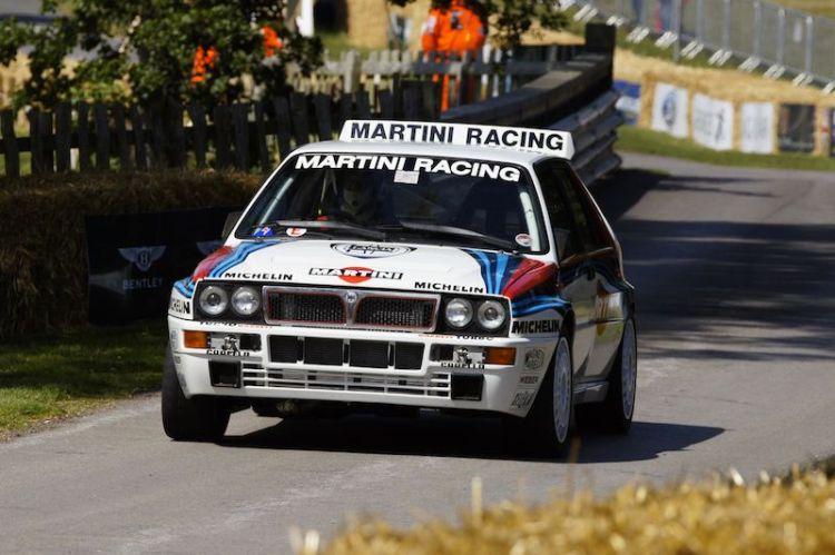 Lancia Delta Interale WRC Martini