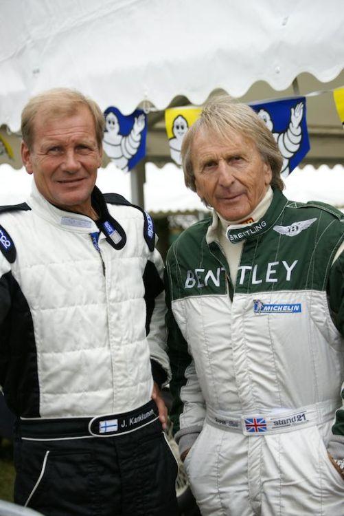 Juha Kankkunen (l) and Derek Bell
