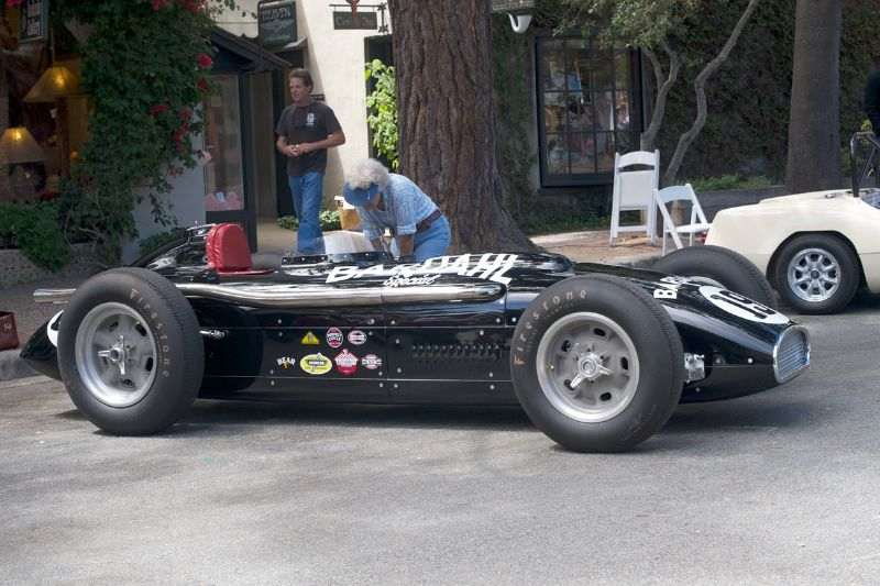 Bardahl Kurtis Indy car.