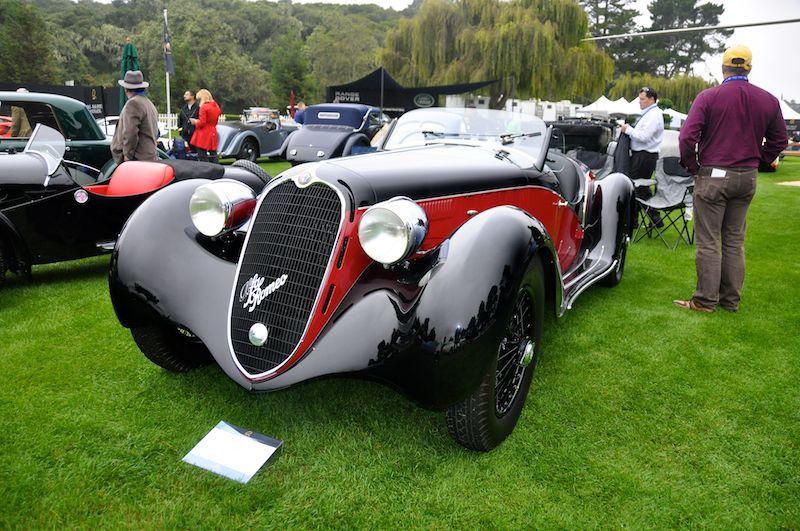1939 Alfa Romeo 6C 2500, Tony Shooshani