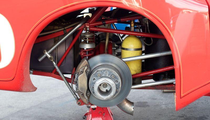 Dekon Monza rear suspension.