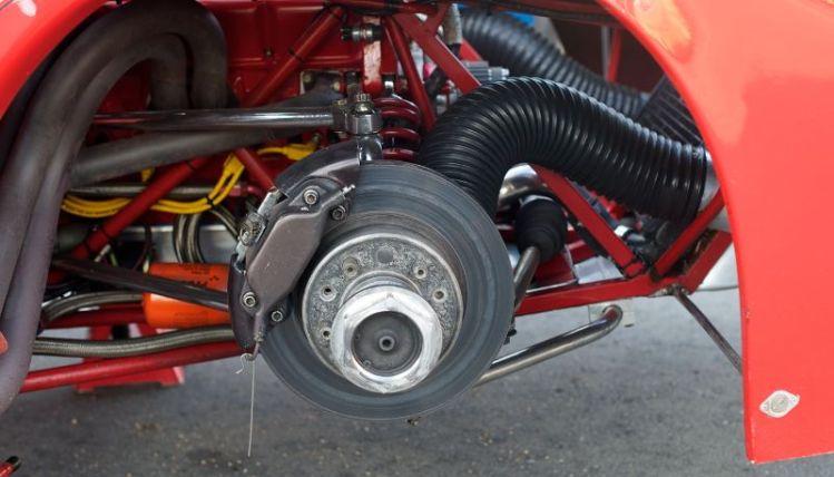 Dekon Monza right front wheel well.