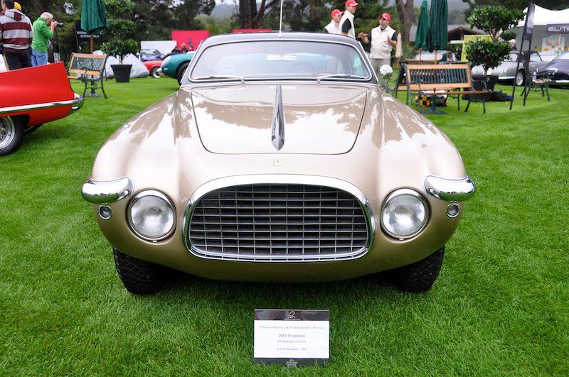 1953 Ferrari 375 America Vignale Coupe, Scott Morris