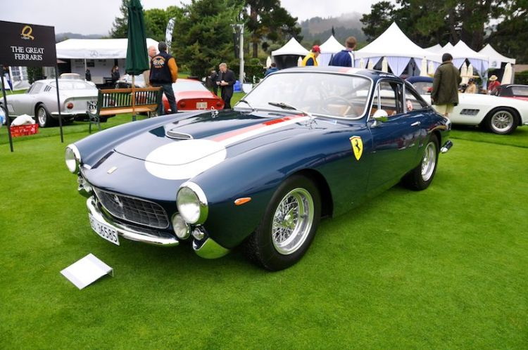 1964 Ferrari 250 GT Lusso Competition, Peter Read