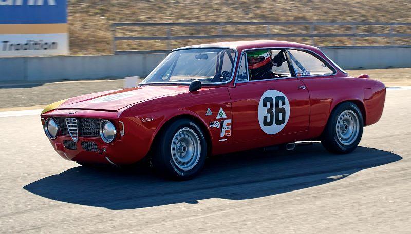 Mark Colbert's 1965 Alfa Romeo GTA.