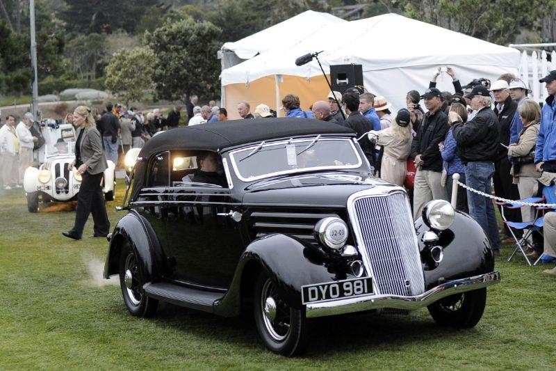 1936 Ford Model 48 Glaser Convertible Cabriolet, Michael Dingman