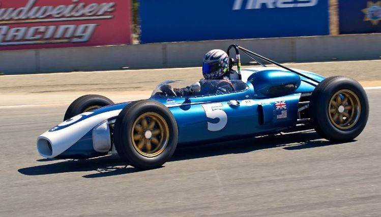 1961 Scarab F1 driven by William Cotter.