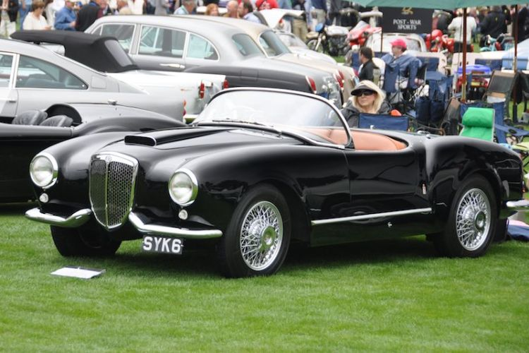1954 Lancia Aurelia Spyder America, Richard Powers