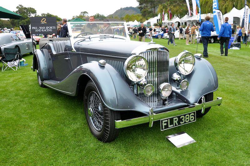 1939 Bentley 4.25 Litre MX Vanden Plas Tera, Helium Holdings