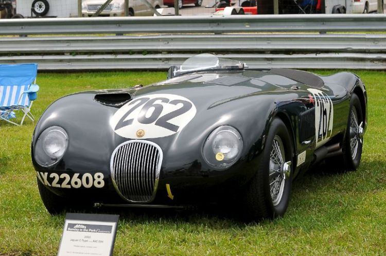 1953 Jaguar C-Type, Chassis XKC034, Thomas Jaycox.