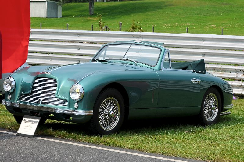1952 Aston Martin DB2- David Jones.
