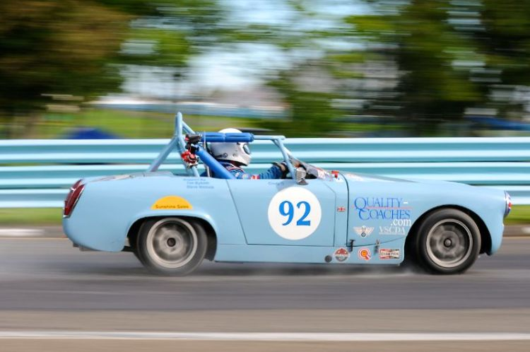 1964 MG Midget- Randy Byboth.