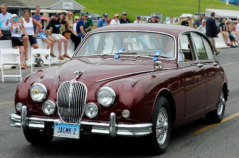 Class 9- 1966 Jaguar MkII- George Jones.