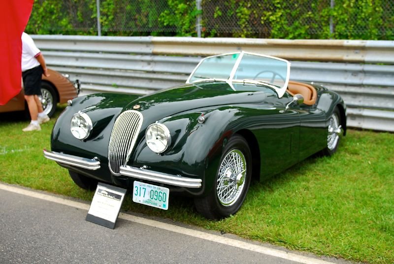 1953 XK120 SE Roadster, Bill Binnie.