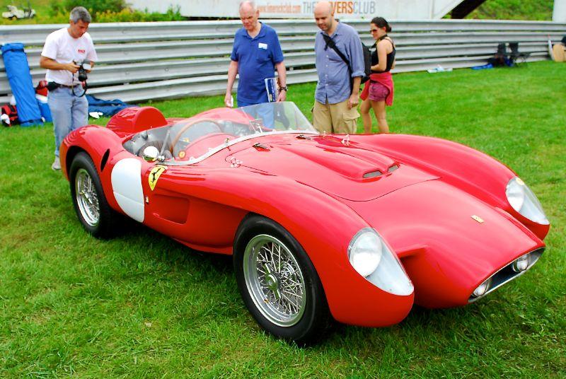 1956 Ferrari 500 TR Prototype, Bill Binnie.