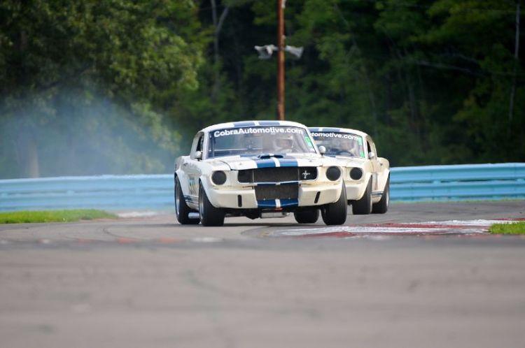 1966 Shelby GT350- Curt Vogt, shelby GT350- Jon Carey.
