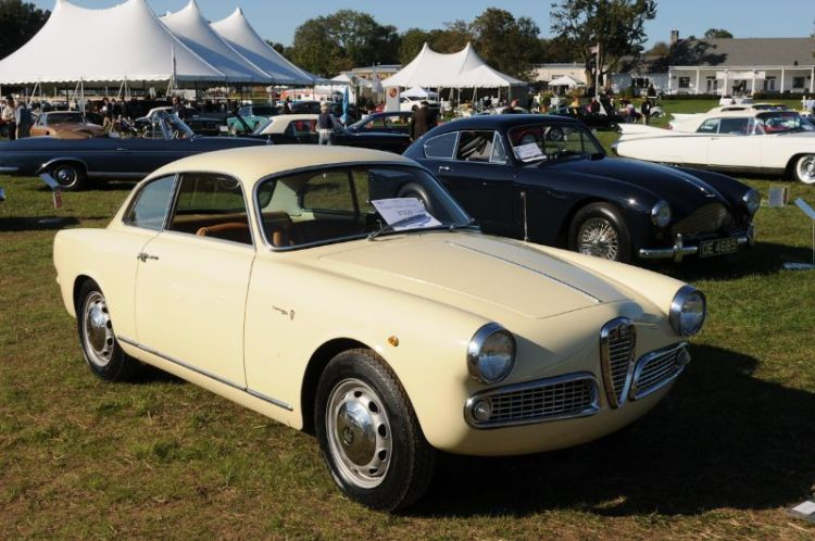 1959 Alfa Romeo Giulietta- Robert Glass.