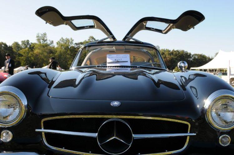 1957 Mercedes 300SL Gullwing- Henry Miller.