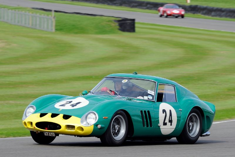 1962 Ferrari 250 GTO - Joe Bamford and Alain de Cadenet