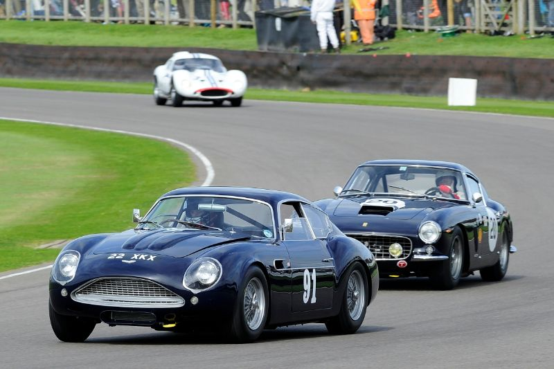 1960 Aston Martin DB4GT Zagato - Matthew Draper and Marino Franchitti