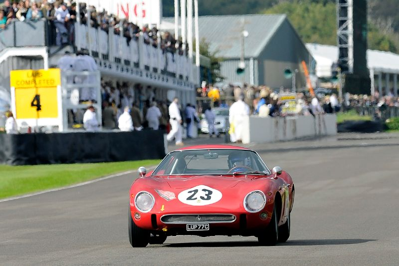 1962 Ferrari 250 GTO/64 - Greg Whitten and Derek Bell