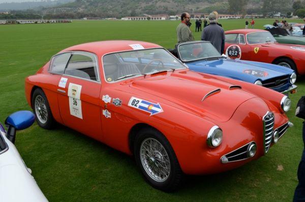Alfa Romeo 1900C SS Zagato - Mille Miglia North American Tribute 2011