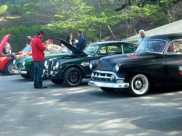 Stinson Beach Turnaround - Mille Miglia North American Tribute 2011