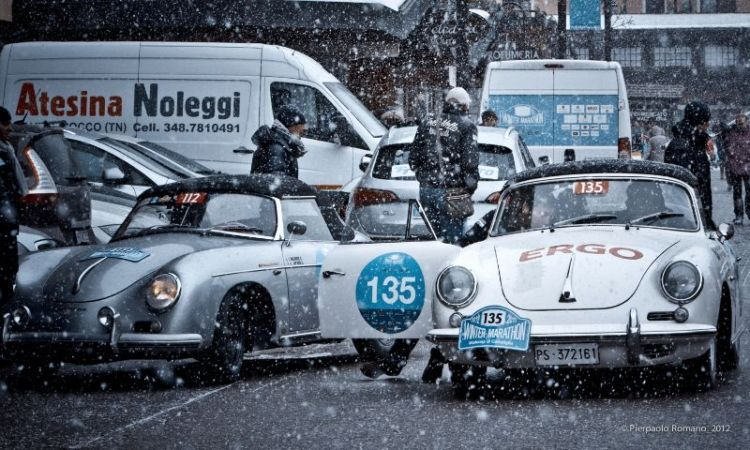1963 Porsche 356 B Cabriolet and 1959 Porsche 356 A Convertible D