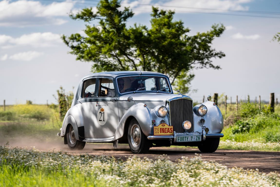 Car 21 Leon Bothma(ZA) / Hester Bothma(ZA)1947 - Bentley MkVI, Rally of the Incas 2016