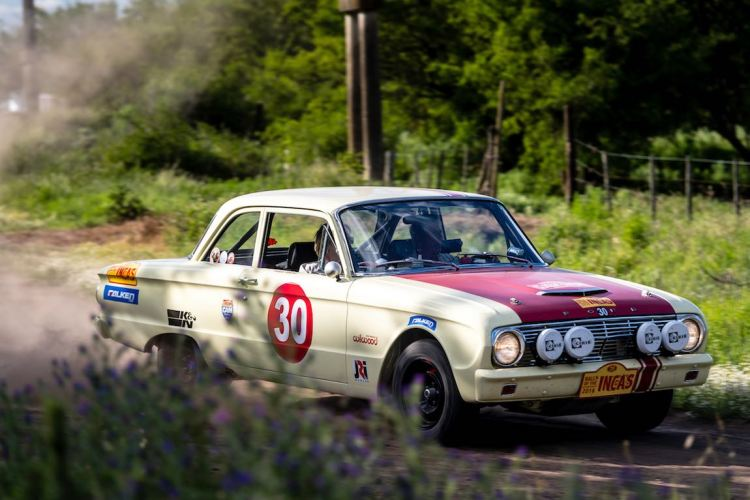 Car 30 Dennis Varni(USA) / Kathleen Varni(USA)1961 - Ford Falcon GT, Rally of the Incas 2016