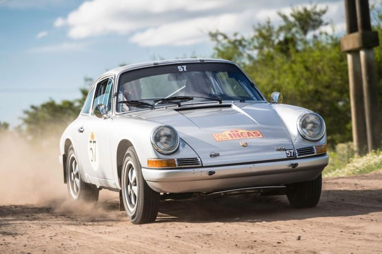 Car 57 Mark Winkelman(NL) / Colin Winkelman(NL)1968 - Porsche 912, Rally of the Incas 2016