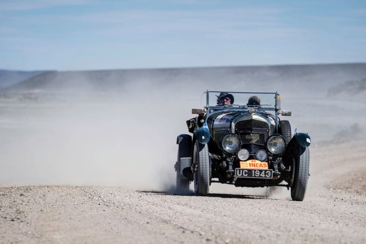 Car 08 Keith Ashworth(GB) / Norah Ashworth(GB)1927 - Bentley 4 1/2 Le Mans, Rally of the Incas 2016
