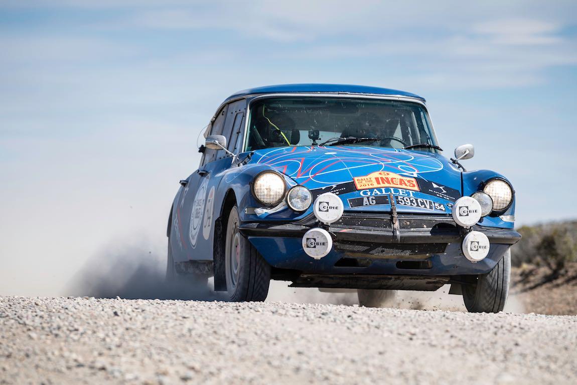 Car 54 Dominique Vananty(CH) / Daniel Spadini(CH)1966 - Citroen DS2154, Rally of the Incas 2016
