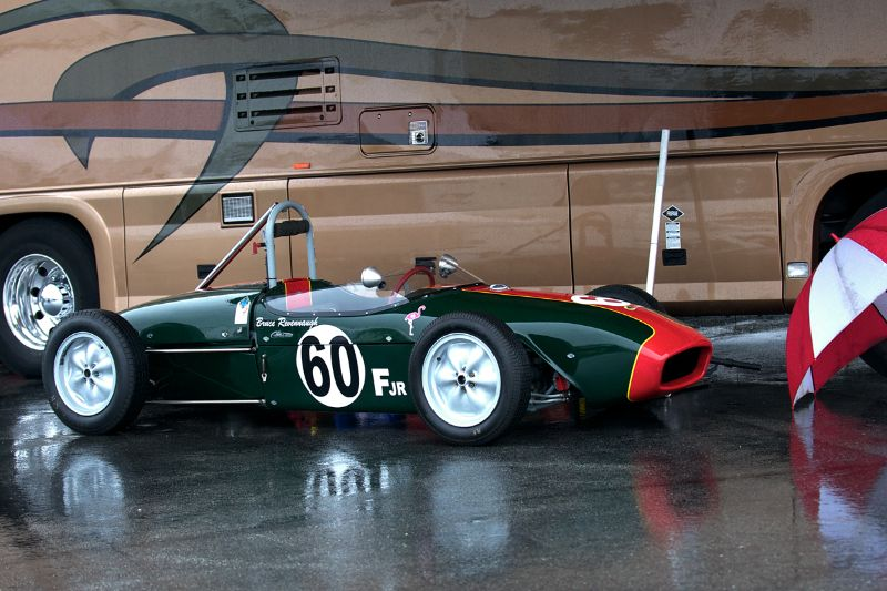 Bruce Revennaugh's Lotus 18.