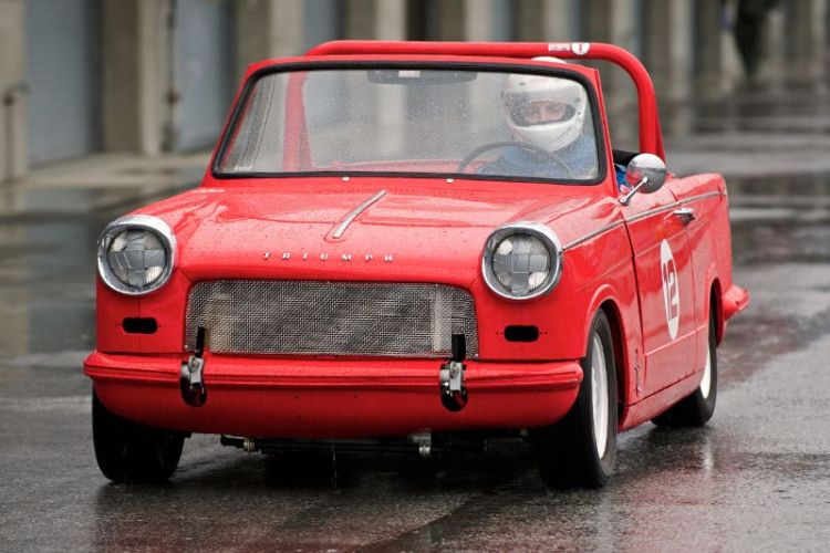 jamie Cleary's 1963 Triumph Herald.