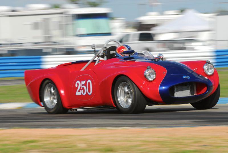 Larry Ligas 1961 Daimler SP250.
