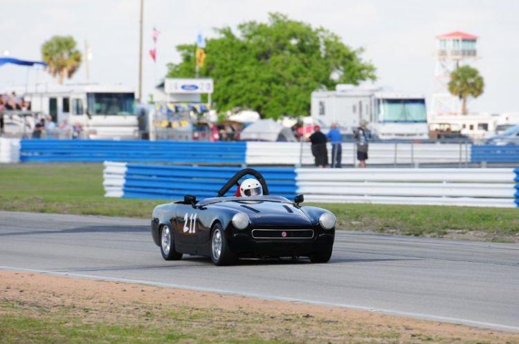 Charles Guest- 1967 MG Midget.