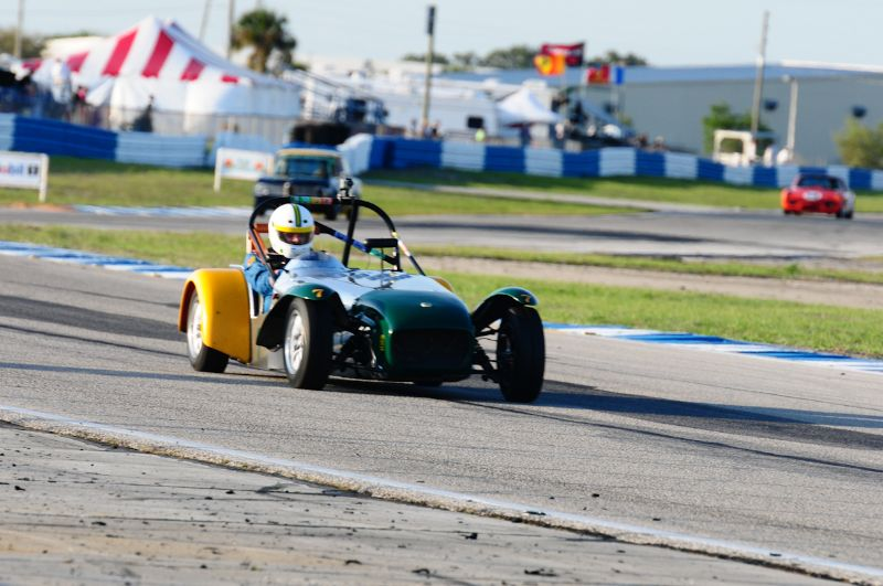 Paul Stinson- 1963 Lotus Super 7.