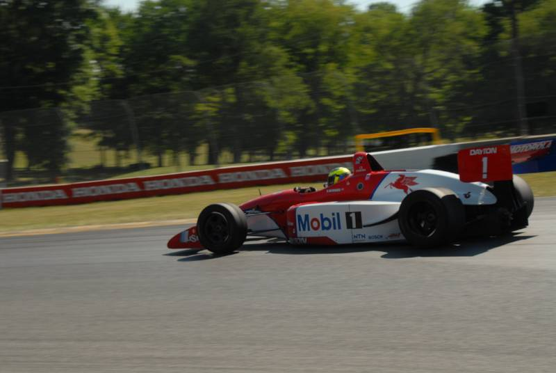Shelby Mershon, very quick Lola T97/20.