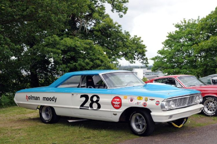 Ford Galaxie at Brooklands Double Twelve Festival 2012