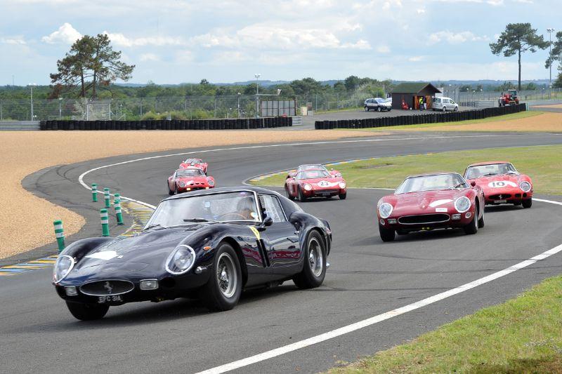 Ferrari 250 GTO 50th Anniversary Tour at Le Mans Classic