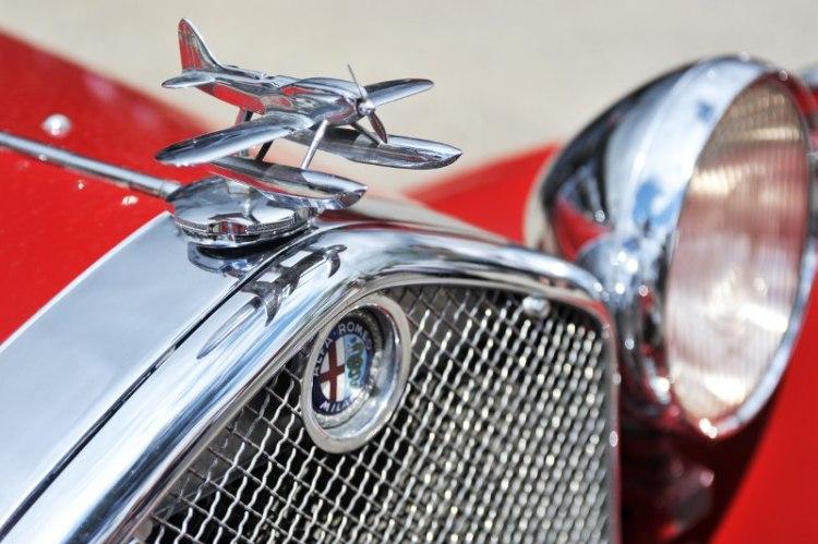 Alfa Romeo Detail - Le Mans Classic 2012