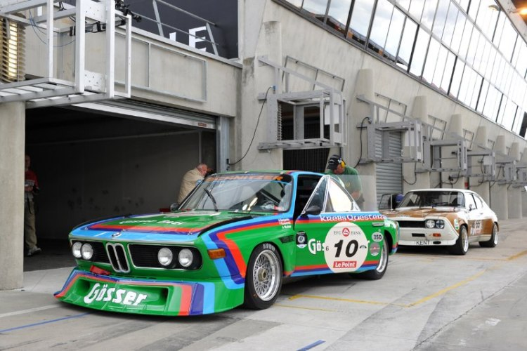 BMW CSL and Ford Capri RS - Le Mans Classic 2012