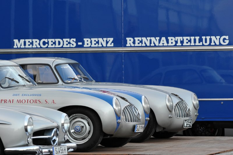 Mercedes-Benz W194 and Early MB 300SL - Le Mans Classic 2012