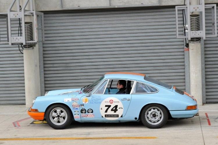 Porsche 911 - Le Mans Classic 2012