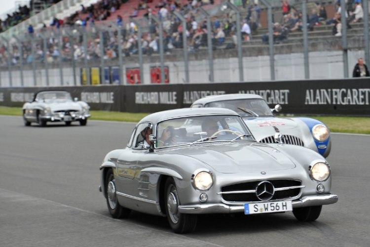 Mercedes-Benz 300SL - Le Mans Classic 2012